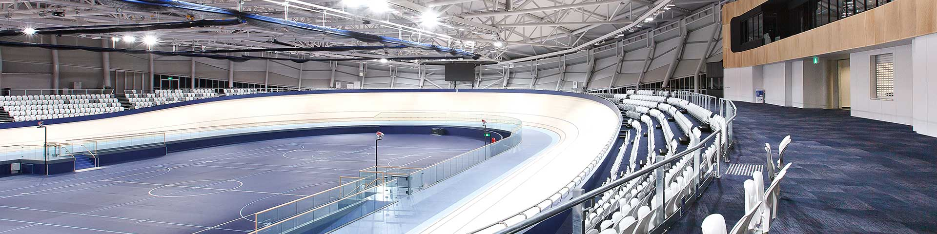 Cycling on the Anna Meares Velodrome at Sleeman