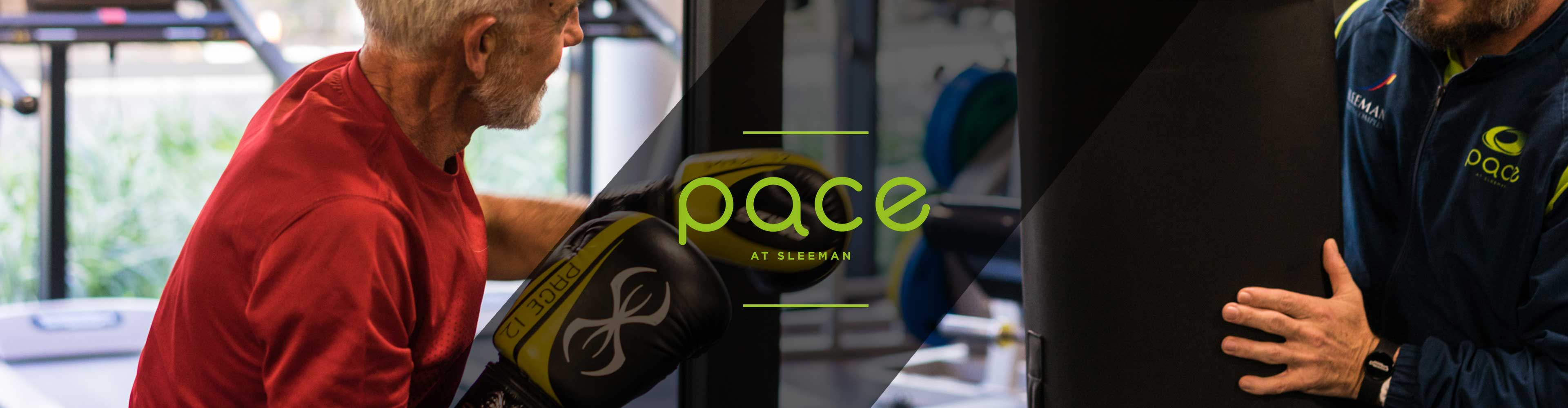Pace at Sleeman Boxing Class